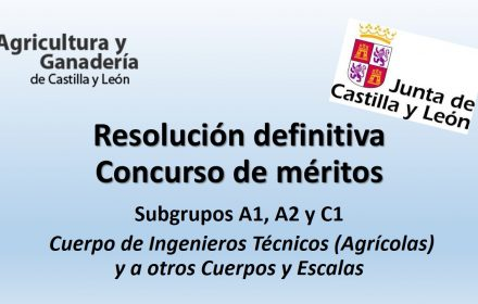 Resolución definitiva Concurso de méritos agricultura jun-2017