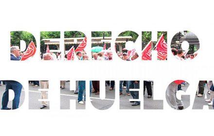 Solidaridad sindicalistas enfrentan juicio hacer huelga