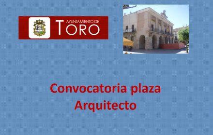 Convocatoria arquitecto ago-2017