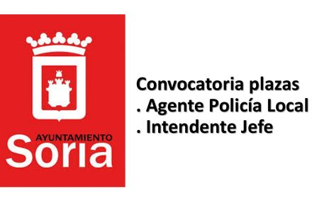 Convocatoria policia intendente ayto Soria ago-2017