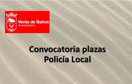 plazas policia Venta baños ago-2017