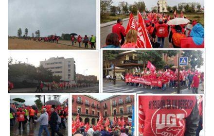 Avanzan marchas PensionesDignas hacia Madrid