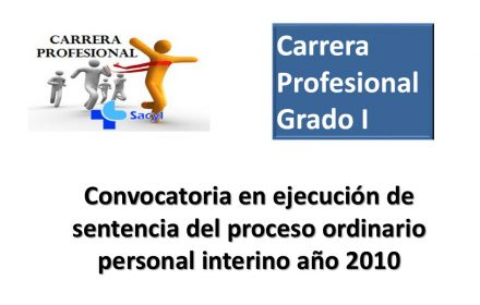 Carrera grado I sentencia interino 2010 oct-2017