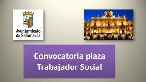 Convocatoria plaza trabajador social oct-2017