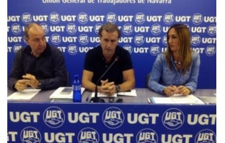 UGT rechaza proyecto Ley Policías Navarra