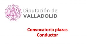 plazas diput valladolid conductor oct-2017