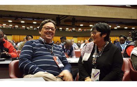 Congreso ISP reelección Rosa Pavanelli