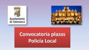 Convocatoria plazas policia nov-2017