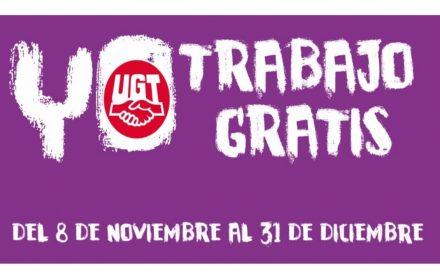 mujeres España trabajan gratis 8 nov final año