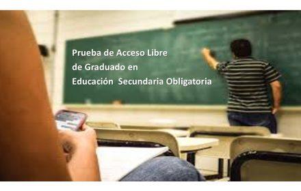 prueba acceso graduado ESO