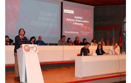 FeSP-UGT celebra tercer comité federal ordinario