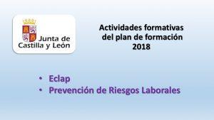 actividades formacion eclap y prl 2018