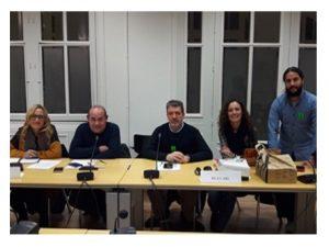 representantes profesorado encierran ministerio Educación