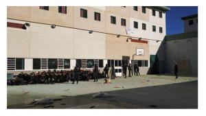 Interior vacía cárcel Archidona