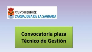 Convocatoria tec getion carbajosa feb-2018