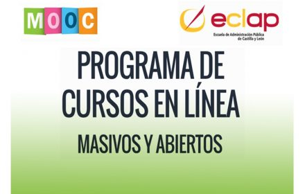 Cursos Online ECLAP empleados públicos CyL feb-2018