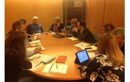 reúnen Comisión Interior Congreso y Senado Grupo Socialista