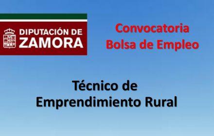 Bolsa Empleo tecnico emprendimiento rural