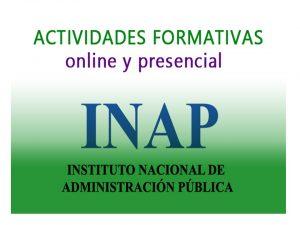 INAP Convocadas actividades formativas mar-2018