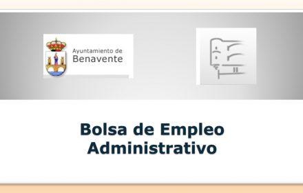benavente Bolsa administrativo mar-2018