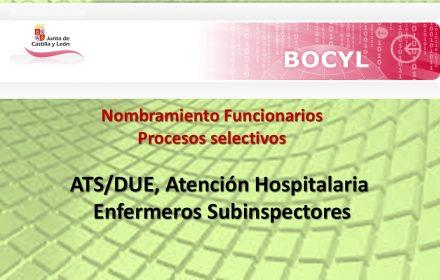 nombramiento Ats Enfer subinspector mar-2018