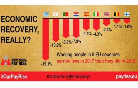 trabajadores 9 países europeos peor antes crisis
