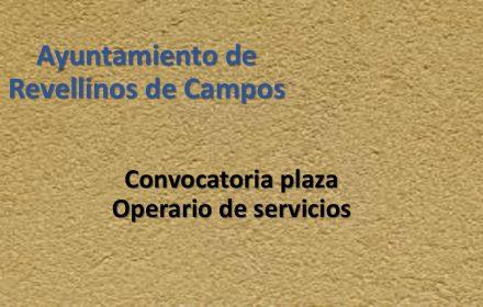 Ayto Revellinos operario servicios