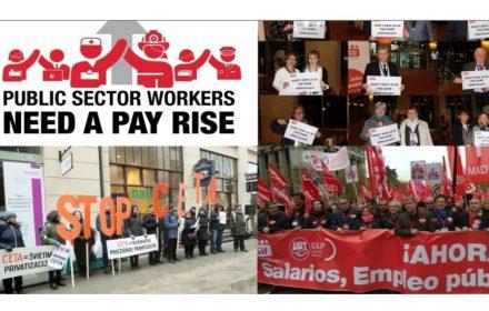 Informe EPSU España fue escenario conflictos