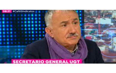 Pepe Álvarez llama a participar 1 mayo 2018