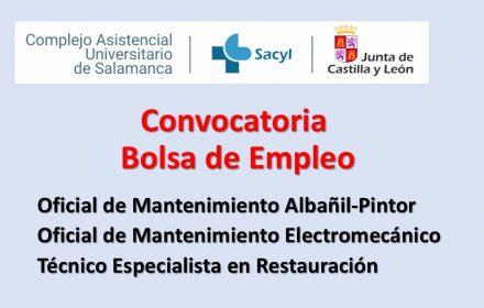 bolsa Hospital Salamanca