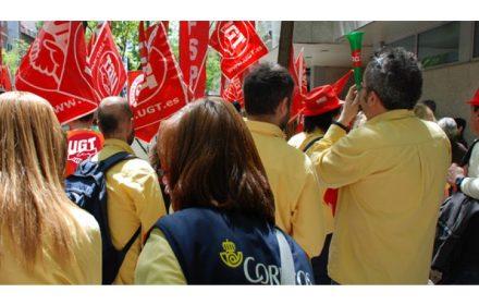 recorte CORREOS PGE 2018 movilización unitaria