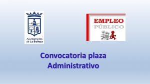 La bañeza paza administrativo may-2018