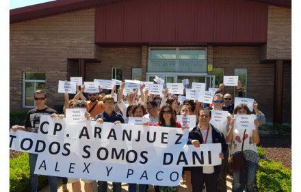 Todos centros paran contra represión policial