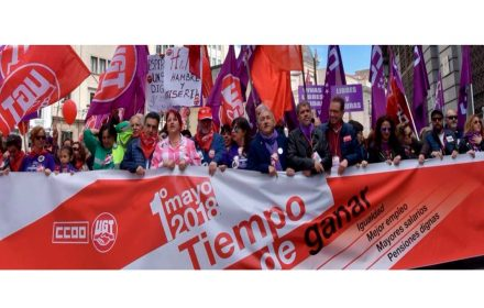 miles de personas se movilizan recuperar derechos