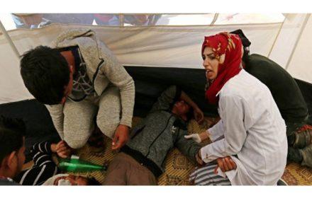 exige Israel respete trabajadores salud