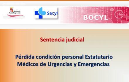 pérdida condicion estatutario sentencia med urg jun-2018