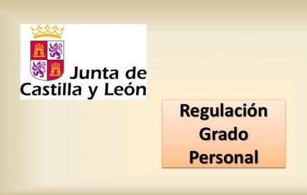 regulacion grado personal