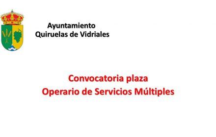 Ayto Quiruelas plaza operario jul-2018