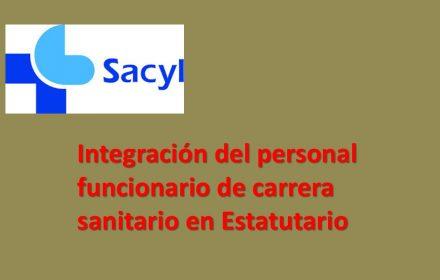 Integración funcionario sanitario en Estatutario