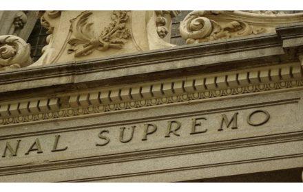 Tribunal Supremo pronuncia actividad investigadora