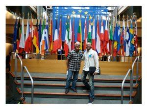 UGT Bomberos en jornadas Parlamento Europeo