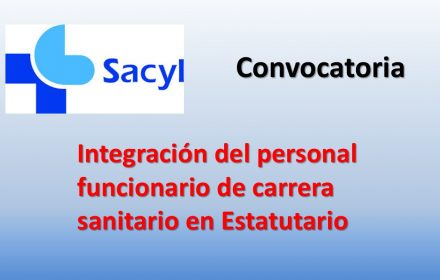 convocatoria Integración funcionario sanitario en Estatutario