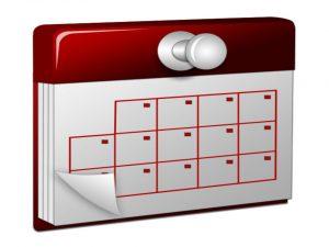 Calendario de movilizaciones