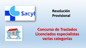 Concurso Traslados varias categorias prov ago-2018