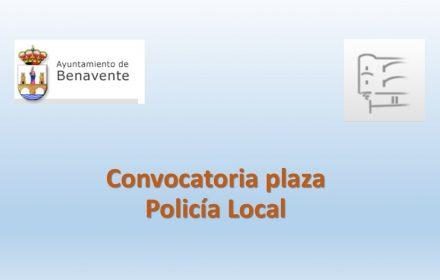 Convocatoria plaza policia ago-2018