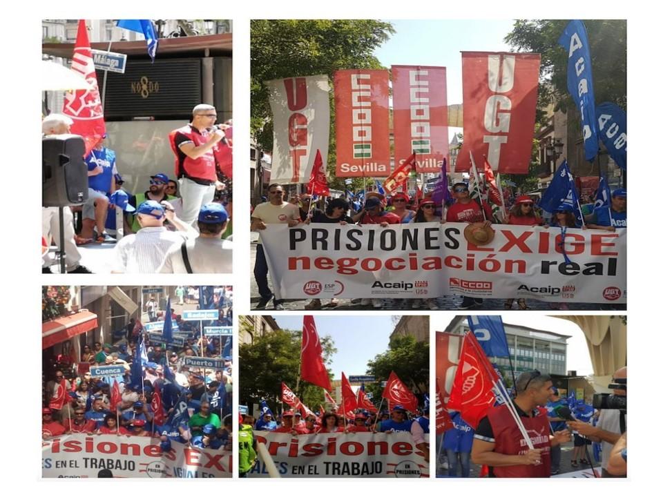Éxito manifestación Sevilla sep-2018