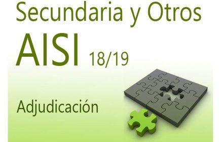 AISI 2 18-19 Secundaria Adjudicación