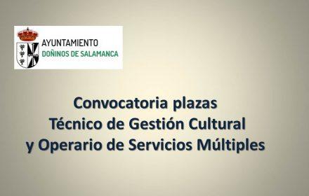 Ayto doñinos varias plazas sep-2018