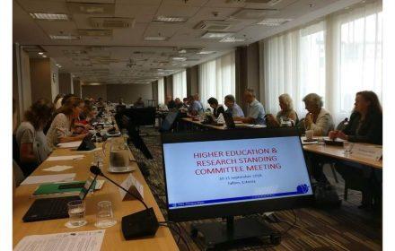 FeSP en Comité Educación Sup Internacional