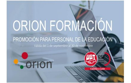 ORION Educación 3 cursos 45 Euros